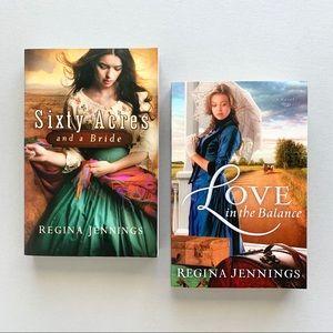 Set of 2 Regina Jennings Christian romance novels
